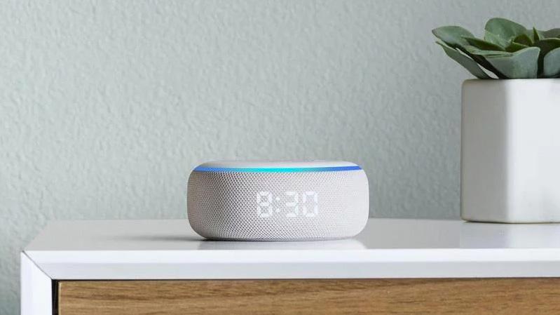Echo Dot con reloj | Altavoz inteligente con Alexa