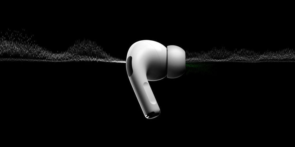 AirPod Pro filtrando el sonido externo